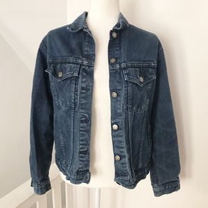Gap Denim Jacket Button Up Coat